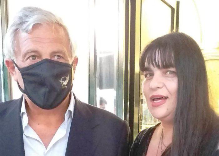 Il Segretario politico provinciale della Democrazia Cristiana picena Laura Allevi ha avuto modo recentemente di confrontarsi con il Vice-Presidente nazionale di Forza Italia On. Antonio Tajani