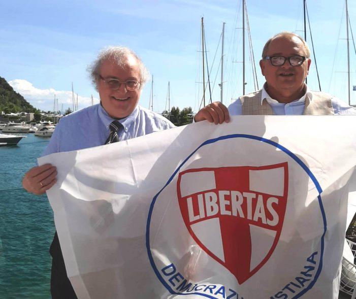 Un utile e proficuo incontro politico si è svolto a Portopiccolo (Trieste) tra Robert Flavio Paltrinieri (NDC) ed il Segretario nazionale D.C. Angelo Sandri