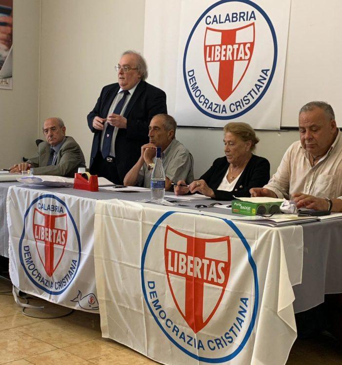 Giovedì 6 agosto 2020, con inizio alle ore 18.30, nuovo incontro telematico della Democrazia Cristiana della provincia di Cosenza