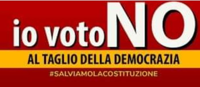<Angelo Sandri (Dc): NO alla riduzione dei parlamentari Roma, 07 ago - (Agenzia Nova)>