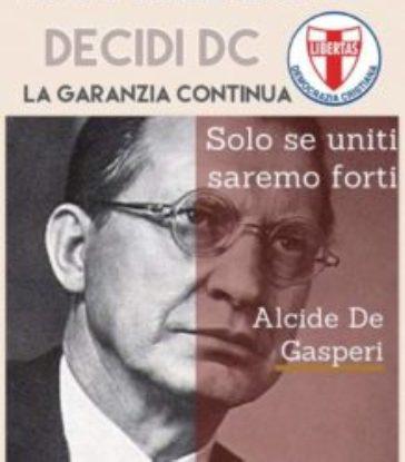 Il ricordo di Alcide De Gasperi nel 66° anniversario della sua scomparsa (19 agosto 1954)