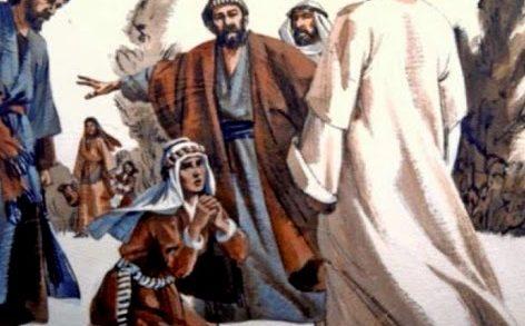 L'episodio evangelico dell'incontro con Gesù da parte della donna cananea: la fede dei lontani, esempio per tutti noi.