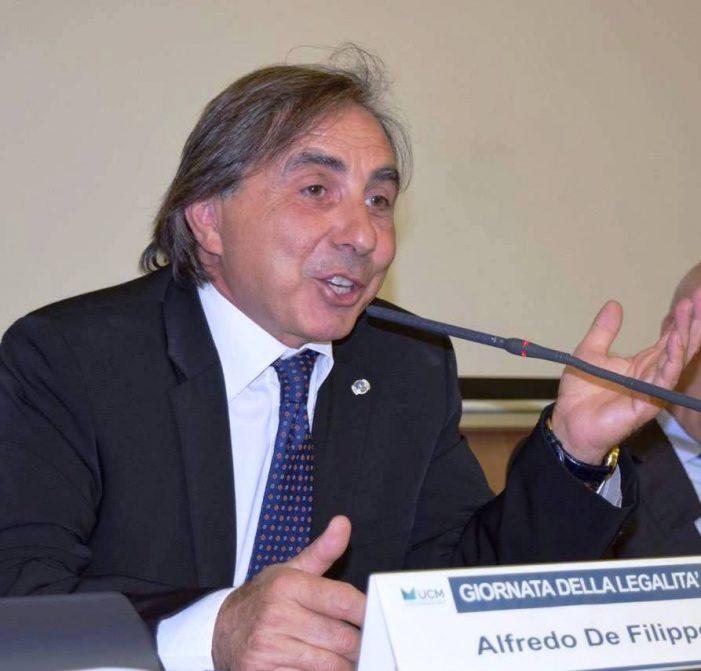 Avv. Alfredo De Filippo (D.C.): la Giustizia è ferma e va rifondata la Magistratura !