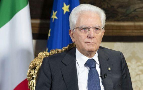 LA VISITA DI SERGIO MATTARELLA AL SANTUARIO DELLA MADONNA DI LORETO.