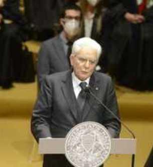 Inaugurato il nuovo anno accademico dell'Università degli studi di Macerata alla presenza del Capo dello Stato Sergio Mattarella