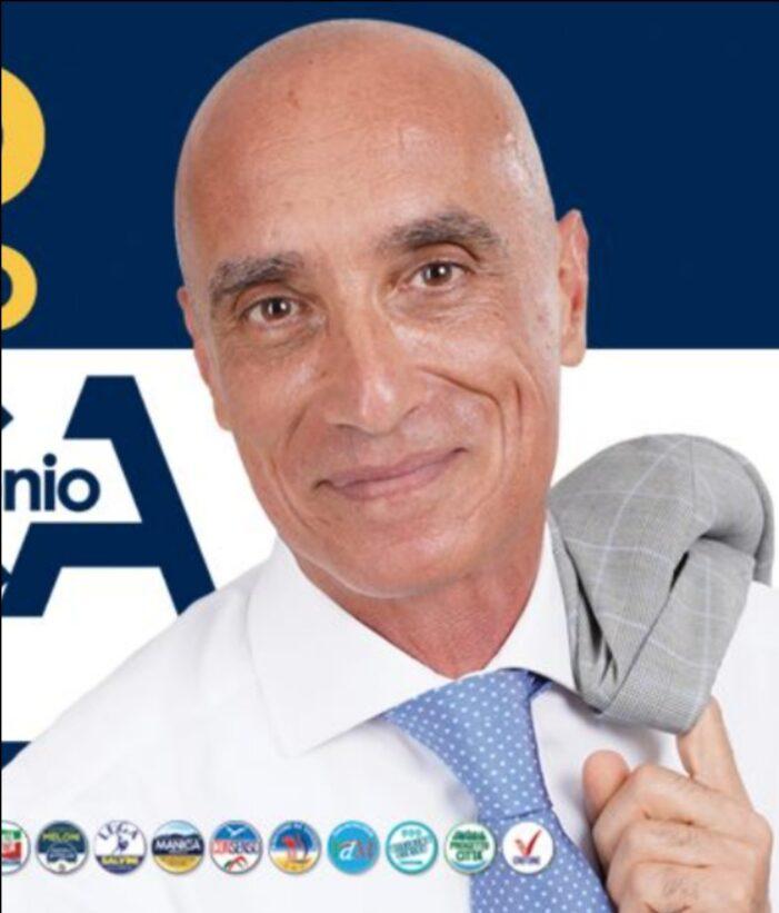 La Democrazia Cristiana rinnova il suo convinto sostegno al candidato sindaco del centro destra a Crotone ANTONIO MANICA !