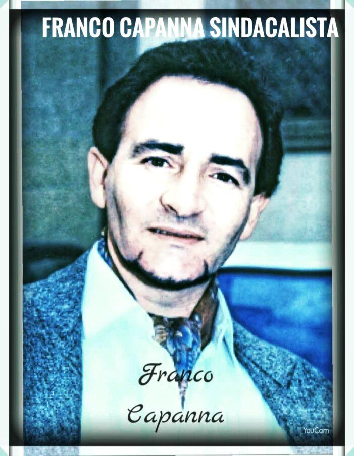CANADA: PERGAMENA DI PERSONAGGIO DELL'ANNO A FRANCO CAPANNA SINDACALISTA.