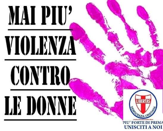 """25 novembre 2020: Giornata internazionale contro la violenza sulle donne – Al via il progetto """"Cleopatra"""", promosso dal Movimento Femminile e per le Pari Opportunità della Democrazia Cristiana."""