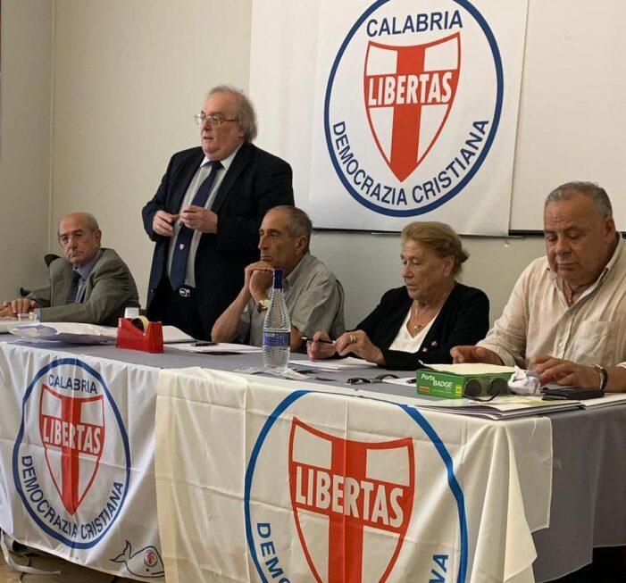 Venerdì 26 febbraio 2021 – ore 9.30 – a Lamezia Terme (CZ) – riunione del Comitato Direttivo regionale della Democrazia Cristiana della Calabria