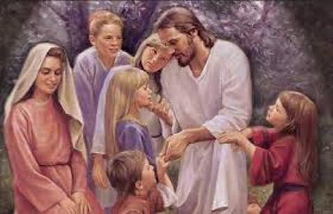 """Dice Gesù: """"Prendete esempio da me che sono Mite ed Umile di cuore""""."""