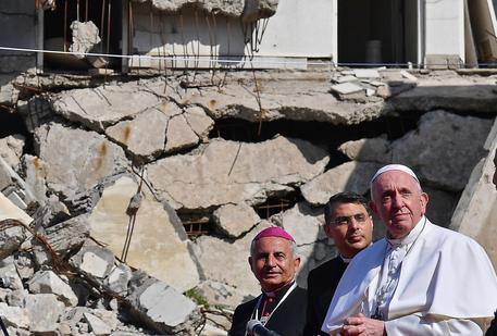 Le lacrime del Papa hanno commosso tutti gli Iracheni !