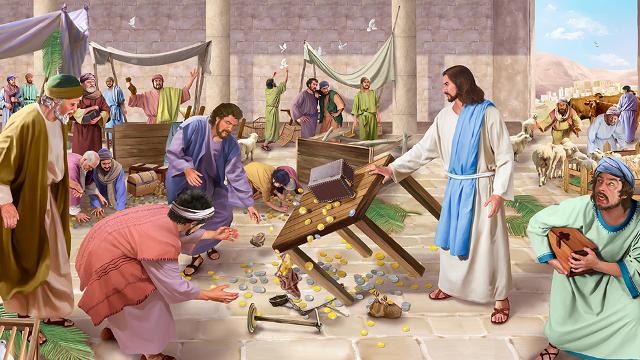 < Terza domenica di quaresima: Gesù risana la nostra relazione con Dio. >