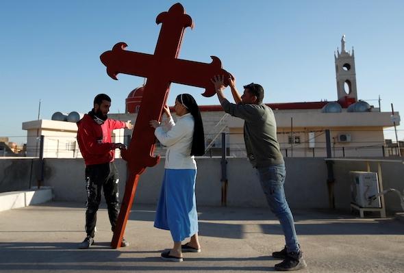 DAL 5 ALL'8 MARZO 2021 PAPA FRANCESCO IN VISITA IN IRAQ: RICOSTRUIRE E RICOMINCIARE IN NOME DI DIO.