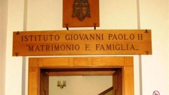 """Le nuove proposte dell'Istituto pontificio """"Giovanni Paolo II"""" in tema di matrimonio e famiglia."""