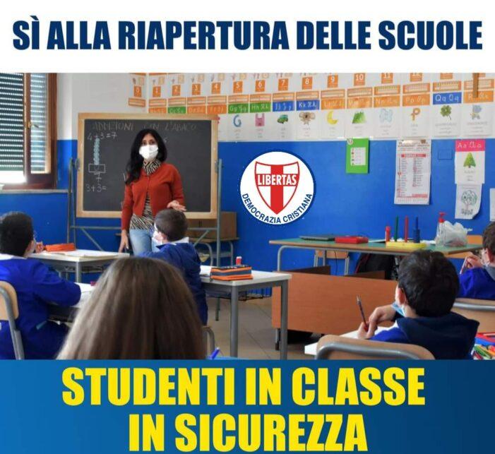 Si avvicina con una certa apprensione l'appuntamento di mercoledì 7 aprile 2021 con la riapertura delle scuole per tanti bambini della regione Campania
