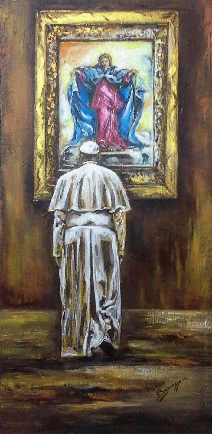 """""""La Misericordia nell'Arte"""", di Pietra Barrasso (Roma)."""