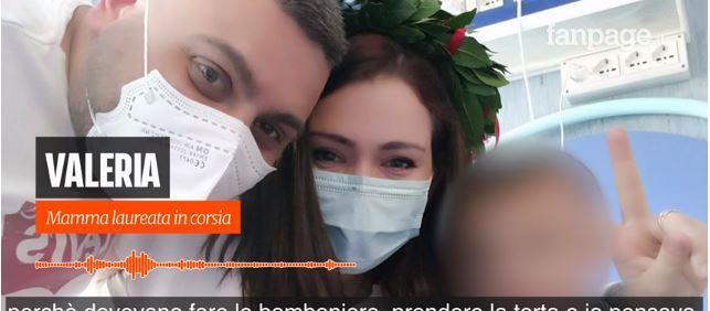 """Il figlio è ricoverato in ospedale e la mamma si laurea in videoconferenza dal """"Santobono"""" di Napoli !"""