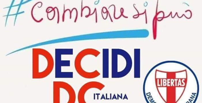 TESSERAMENTO ALLA DEMOCRAZIA CRISTIANA PER L'ANNO 2021: AGGIORNATO IL SITO INTERNET UFFICIALE DELLA D.C. COME DELIBERATO DALL'UFFICIO POLITICO DI LUNEDI' 7 GIUGNO 2021