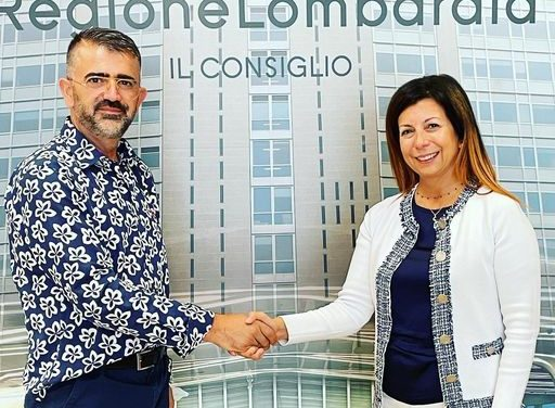 L'On. Eduart Ndocaj (Democrazia Cristiana) ha incontrato il Consigliere regionale di Forza Italia in regione Lombardia Claudia Carzeri