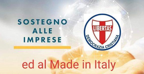 INTENSA ATTIVITA' DEL DIPARTIMENTO DELLA DEMOCRAZIA CRISTIANA PER IL SOSTEGNO ALLE AZIENDE E PER LA TUTELA DEL MADE IN ITALY COORDINATO DA RAFFAELE VICEDOMINI (ROMA)