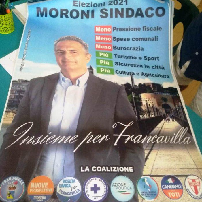 Anche la Democrazia Cristiana di Francavilla al Mare (CH) a sostegno della canddatura a Sindaco di Franco Moroni