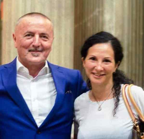 Incontro a Roma tra l'Arch. Dominga Pascali (D.C.) e l'Ambasciatore del Montenegro presso la Santa Sede On. Goiko Celebic