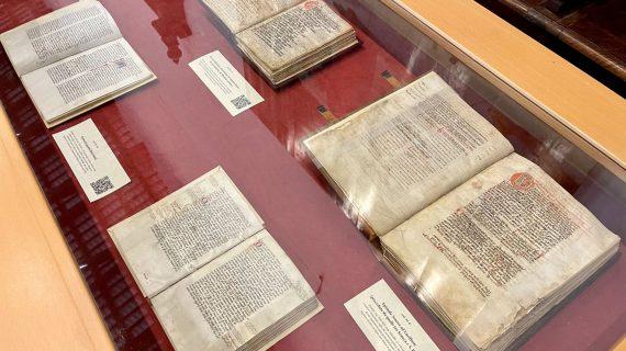 I codici di San Giacomo della Marca temporaneamente trasferiti nella pinacoteca civica di Ascoli Piceno