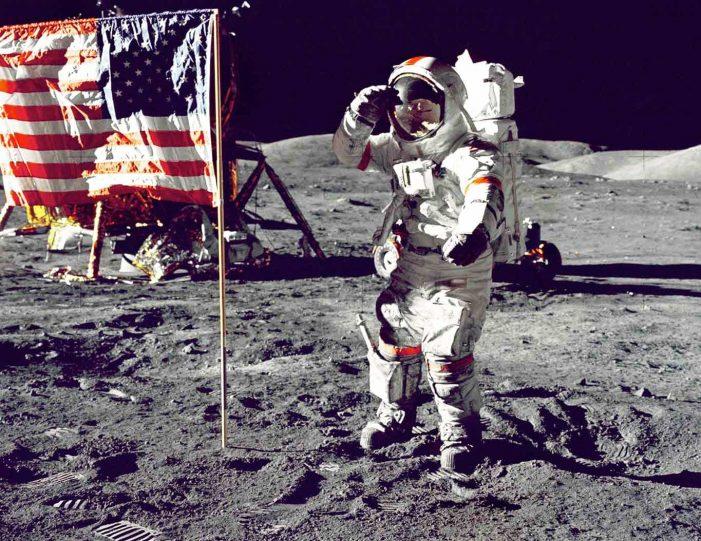 Dal 1969 ad oggi: l'uomo sulla luna con Apollo e Artemide !