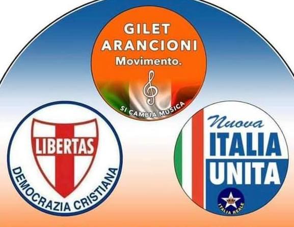 ANCHE LA DEMOCRAZIA CRISTIANA SOSTIENE LA RACCOLTA FIRME DEI GILET ARANCIONI CONTRO L'ILLEGALITA' DEL SISTEMA PARLAMENTARE ESISTENTE IN ITALIA !
