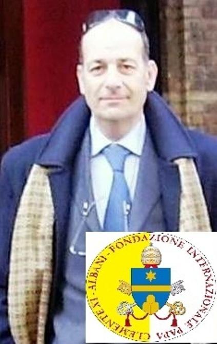 """CONFERITO AL DOTT. EMILIO MASSIMO ROSSI (BERGAMO) IL TITOLO DI SENATORE ACCADEMICO DELLA FONDAZIONE INTERNAZIONALE """"PAPA CLEMENTE XI – ALBANI"""""""