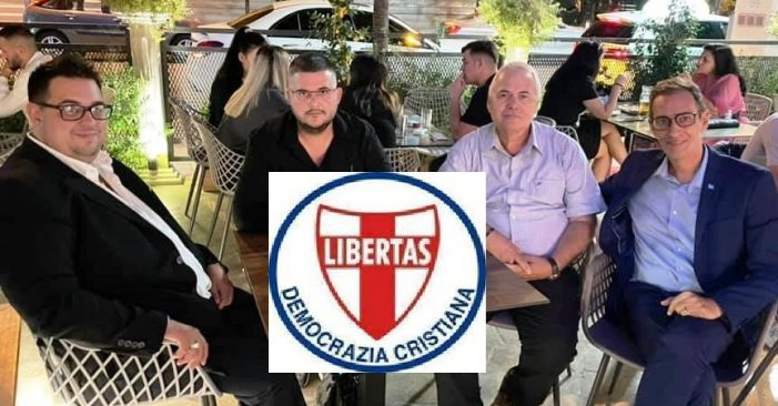 PROFICUA VISITA IN ALBANIA DEL SEGRETARIO NAZ.LE SVILUPPO E MARKETING DELLA DEMOCRAZIA CRISTIANA RAG. JACOPO DOZIO
