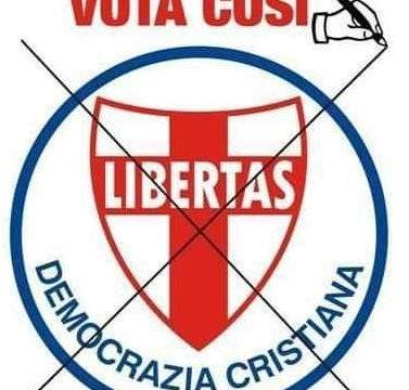 IN CABINA ELETTORALE E' POSSIBILE CAMBIARE L'ITALIA: VOTA DEMOCRAZIA CRISTIANA !