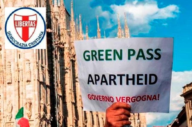 """""""Green pass"""" come strumento di prevaricazione a servizio della burocrazia ?"""
