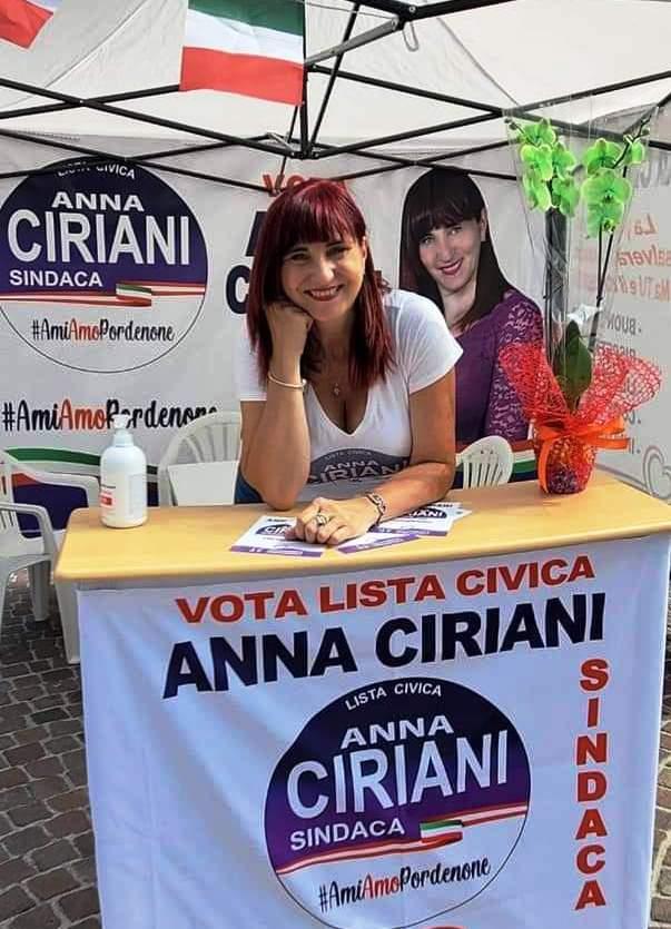 LA NEO-ELETTA CONSIGLIERE COMUNALE A PORDENONE PROF.SSA ANNA CIRIANI: IL CIVISMO COME ANTIDOTO AI MALI DELLA POLITICA ITALIANA DESUETA E CORROTTA