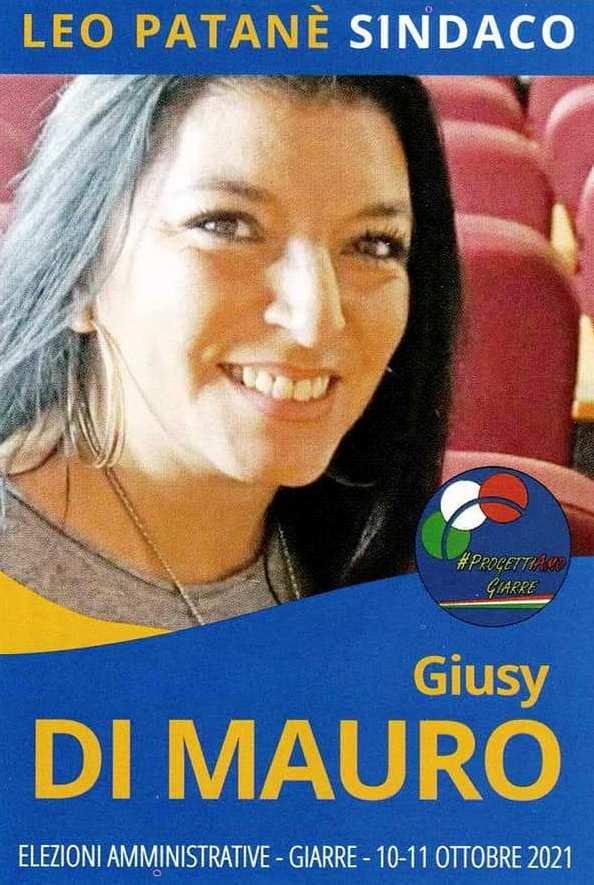 """L'appello di GIUSY DI MAURO (Candidata indipendente D.C. nella lista civica """"ProgettiAmo Giarre"""") a sostegno del candidato Sindaco Avv. LEO PATANE'"""
